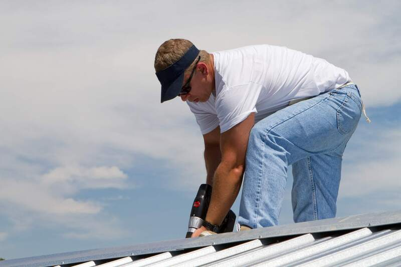 metal roofing bay city technician